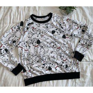 DISNEY 101 Dalmatians All Over Print Sweatshirt